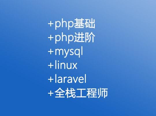 云知梦php基础+php进阶+mysql+linux+laravel全栈工程师【百度网盘】